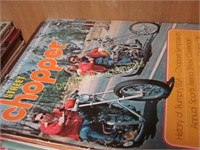 Stacks of Magazines - Chopper, Cycle, Mad