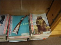 5 Large Stacks of American Rifleman Magazines