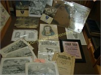 Miscellaneous Prints and Large US Map