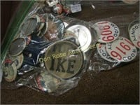 Miscellaneous and Political Pinbacks