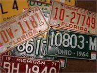 Batch of License Plates
