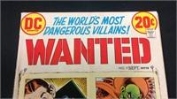 Vintage DC wanted number nine comic book