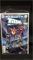 DC universe rebirth titans number two