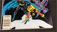 DC superman and Batman in the outsiders comic