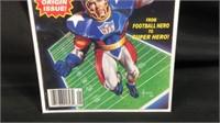 Marvel NFL super pro number one comic book