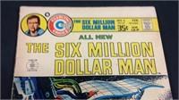 Vintage Charlton comics the $6 million man #6