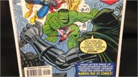 Marvel the avengers comic book