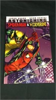 Astonishing Spiderman and wolverine graphic novel