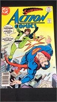 DC action comics number 472 comic book