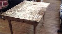 49 x 35 x 32 farm table