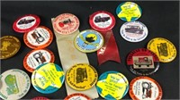 Lot of vintage parade buttons