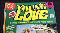 Vintage DC giant young love comic book