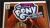 IDW my little pony number to comic book