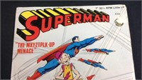 1975 superman 7 inch record