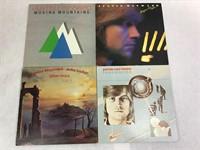 4 VTG 1970-80's Justin Hayward Albums