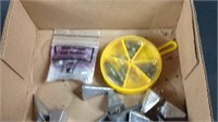 Lot of various fishing weights