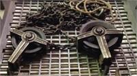 Vintage Half ton roller hook hoist