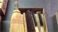 Lot of hand brushes