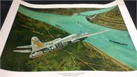 5 World war two series Bomber prints