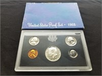 1968 US Proof Coin Set