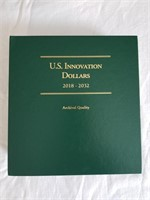 US Innovation Dollars Book w/ 12 Coins