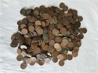 500 Assorted Wheat Pennies