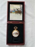 Deer Pocket Watch