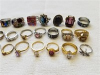 Assorted Rings 1 Lot
