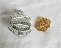 Meadville Rescue Pin & Badge