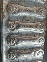 Vintage Metal Chocolate Mold Rosemarie De Paris