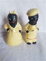 Vintage Aunt Jemima Salt & Pepper Shakers 5""
