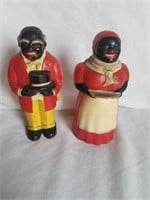 Aunt Jemima & Uncle Ben Salt & Pepper Shakers