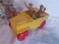 Roy Rogers Chuck Wagon, Jeep & Trailer