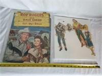 Roy Rogers & Dale Evans Paper Cut Out Dolls