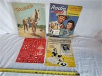 Roy Rogers & Dale Evans Paper Memorabilia 1 Lot