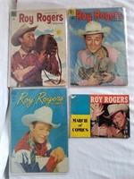 Roy Rogers Comic Books 1 Lot