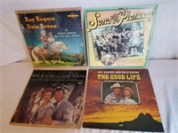 Roy Rogers & Dale Evan Record Albums