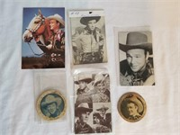 Roy Rogers Post Cards & Collectibles 1 Lot