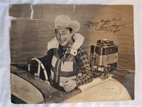 """Roy Rogers Vintage Promo Poster 11 x 16"""""""