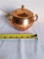"Copper Pot 5"" H"