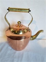"""Copper Kettle 10"""" H Including Handle"""