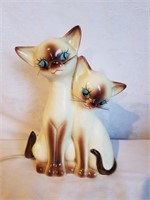 "Vintage 1963 Cat TV Lamp 8"" H"