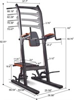 Multifunction Power Tower Pull Up Dip Station