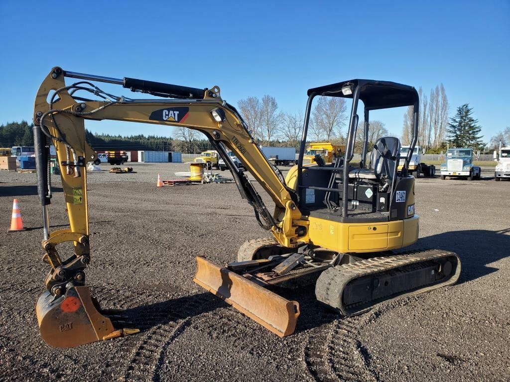 2014 Caterpillar 304E Hydraulic Excavator