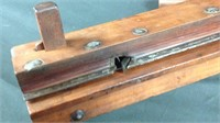 15 inch antique wood plane with blade