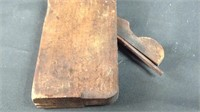 10 inch antique wood plane with blade