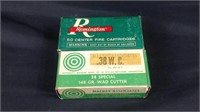 38 special wad cutter cartridges