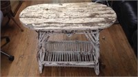 Antique Outdoor Table Real Wear