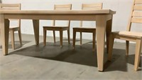 Cresent Fine Furniture 72in. Solid Wood Table with