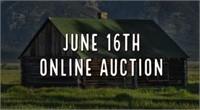 June 16th, 2021 Online Auction